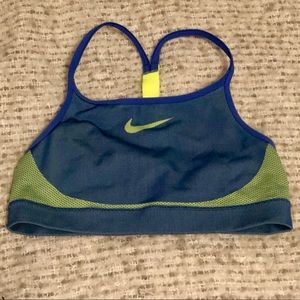Nike sports bra, youth large
